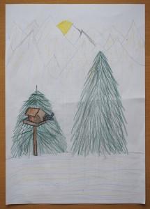 tekening dochter Martin Kos 9-11 jaar
